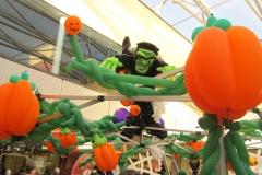 Balloon Installations - Halloween theme