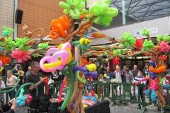 Balloon Installations - Jungle theme
