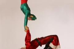 Funky Santa - The perfect Christmas balance