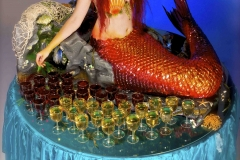 Mermaid living drinks table