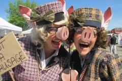 Posh Pigs