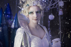 Living Snow Globe