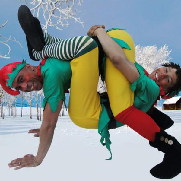 Acrobatic Elves - Christmas themed comedy acrobats