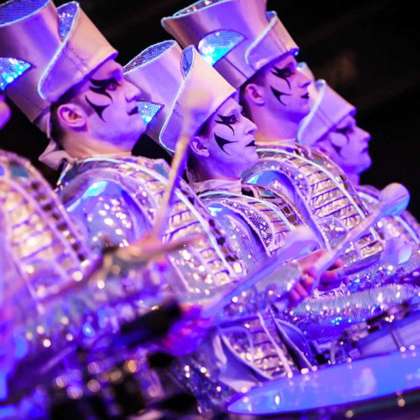 Spark - LED drummers