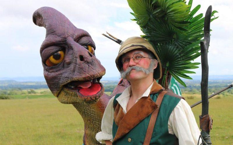 Dinotopia - Dinosaur walkabout character