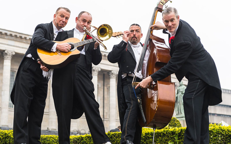 The Casablanca Steps - 1920's style jazz band