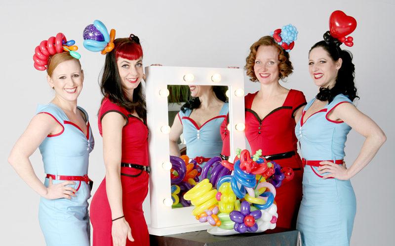 Inflate-a-Belles Pop Up Boutique