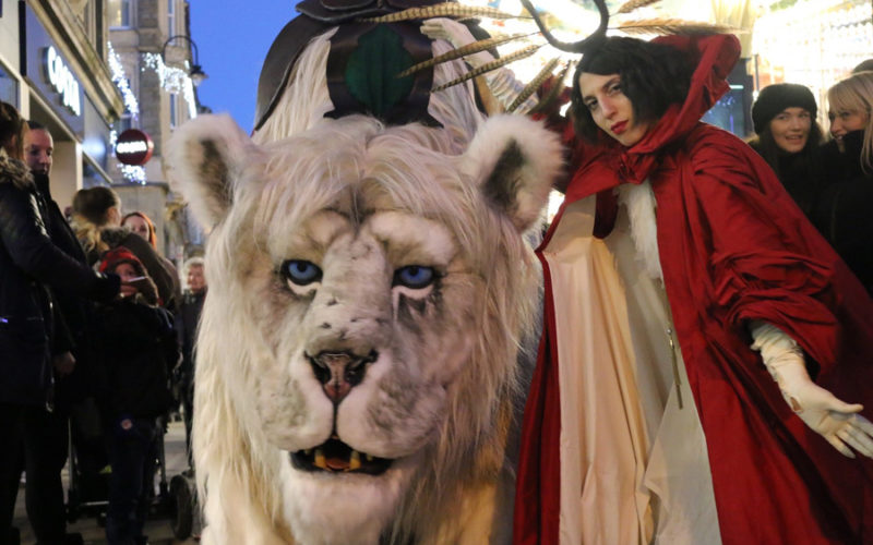 Snow Lion - Walkabout character