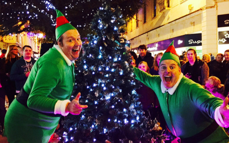 Christmas Elves - Comedy walkabout characters