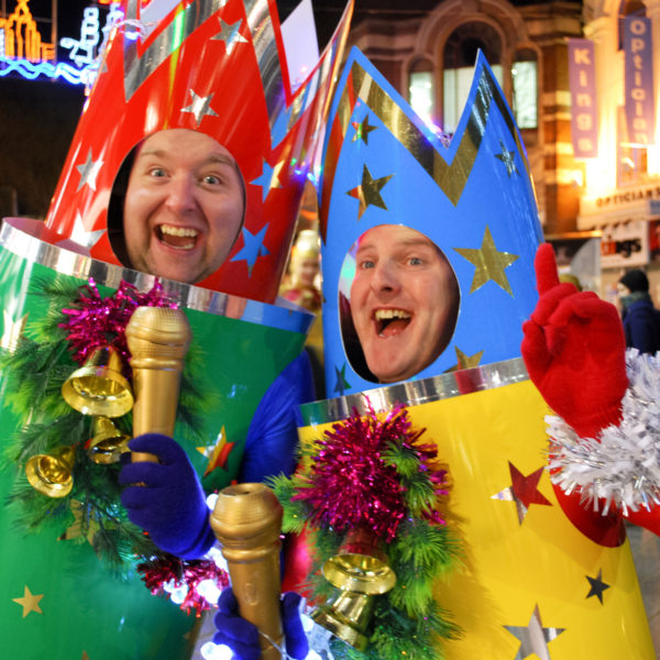 Christmas Crackers - Christmas themed comedy walkabout characters