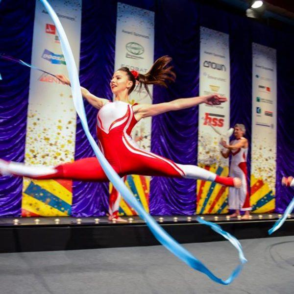 Olympic Rhythmic Gymnasts
