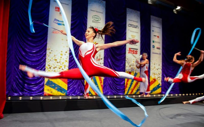 Olympic Rhythmic Gymnasts
