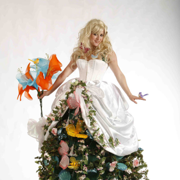 Flower Girl - Spring and summer themed stilt walker
