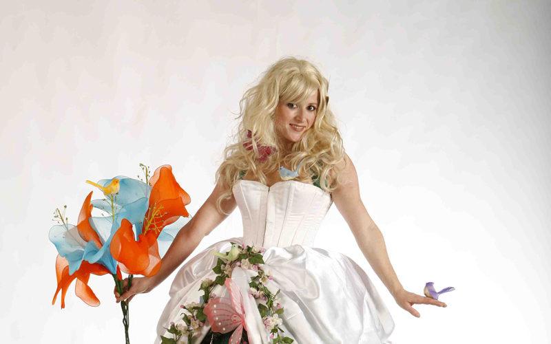 Flower Girl - Spring and summer themed stilt walker