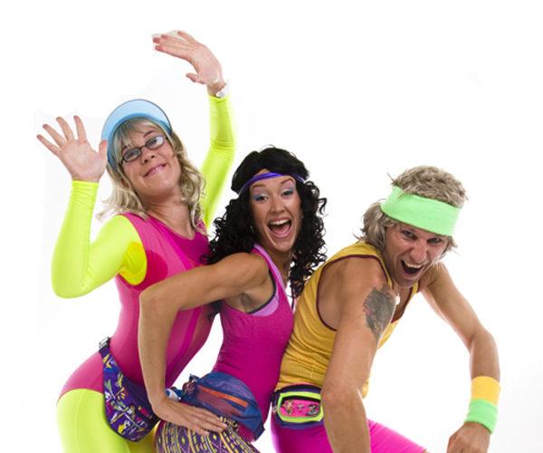 Legwarmerz - Comedy aerobics instructors