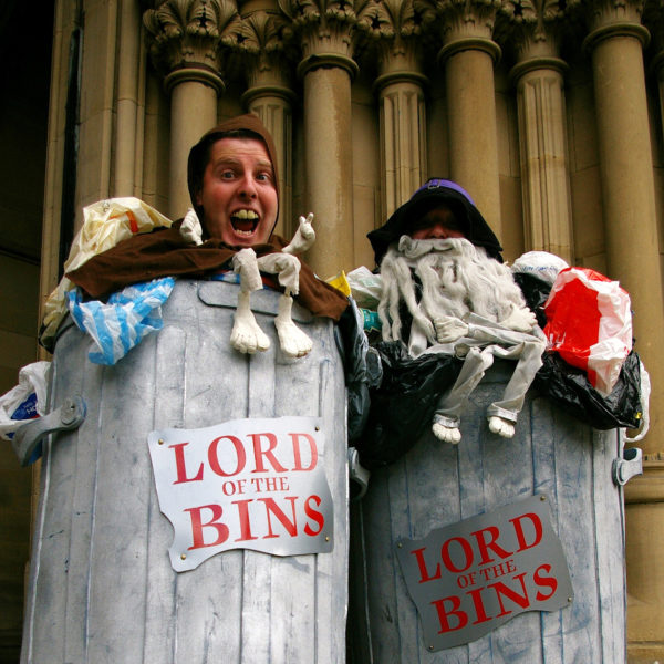 Lord of the Bins - Comedy walkabout characters