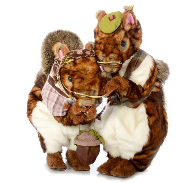 Nutkins - Comical squirrel walkabout characters