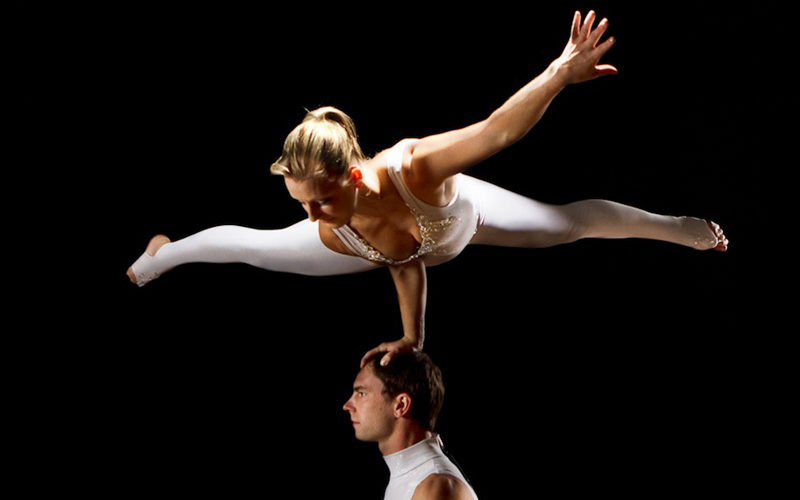 Revolve - Adagio acrobatics on a revolving podium