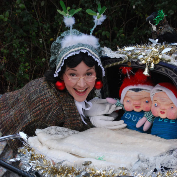 The Pram - Victorian Nursie and her charming puppet twins