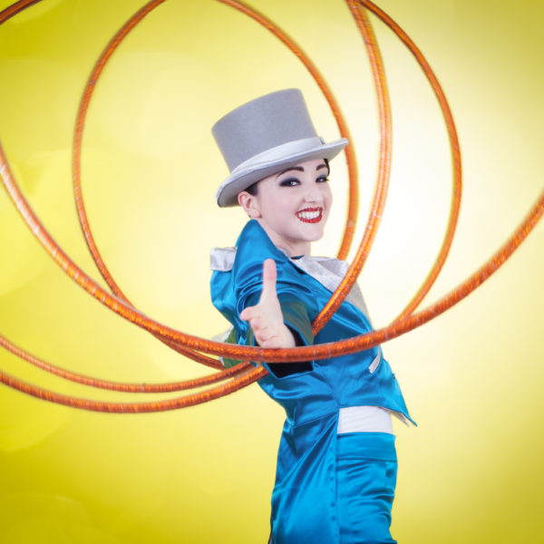Top Hat & Hoops - Slick hula hoop cabaret show
