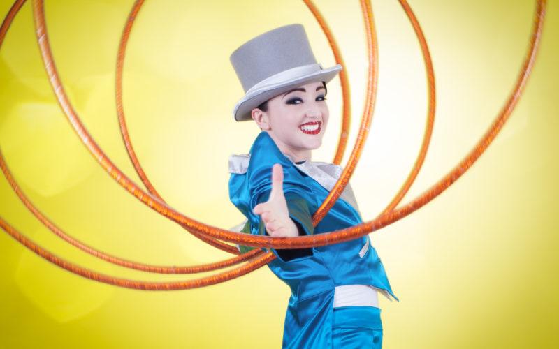 Top Hat & Hoops - Slick hula hoop cabaret show