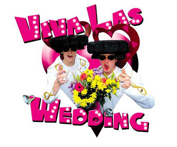 Viva Las Wedding - Comedy walkabout characters