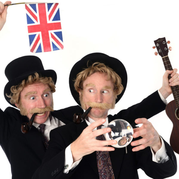 Felix & Felix - The only Penny Farthing bicycle stunt-riding identical twin team in show business!