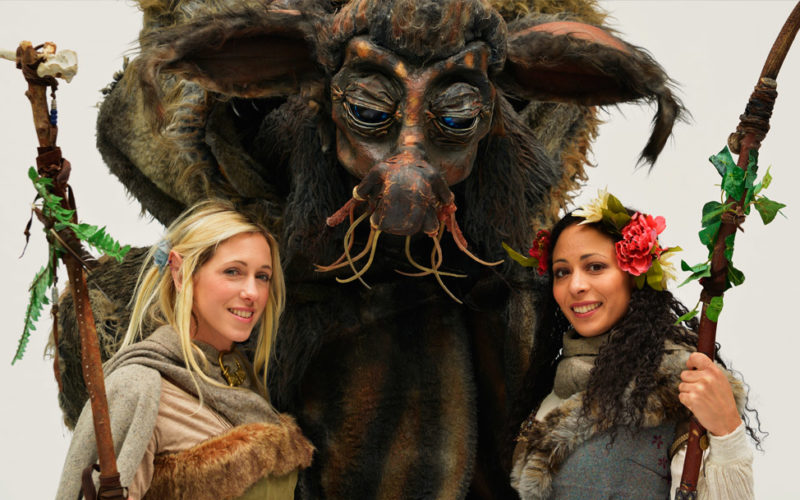 Mythical Creatures - Walkabout characters
