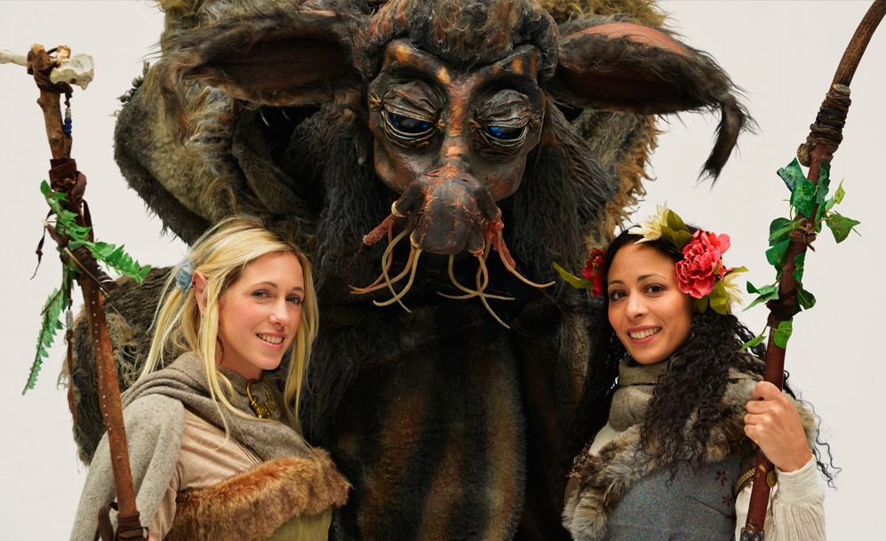 Mythical Creatures Halloween Costumes.Mythical Creatures Larger Than Life