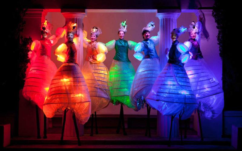 Lightwalkers - LED lit stilt walkers