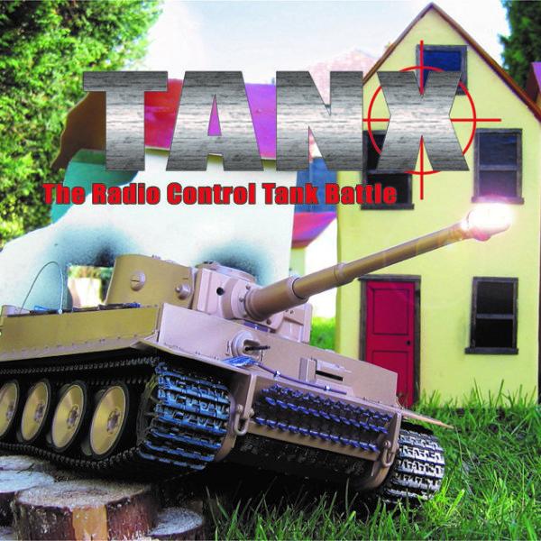 Tanx - Radio controlled tank battle