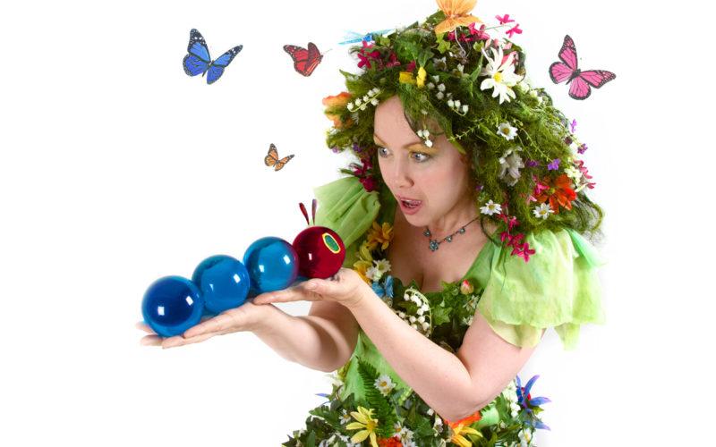 Enchanted Summer - Summer themed walkabout contact juggling