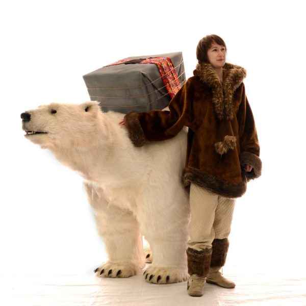 Bjorn The Polar Bear - Interactive and educational performance