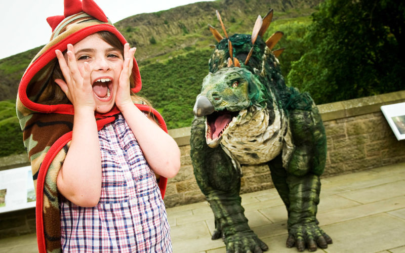 Meet the Dinosaur - Informative natural history show with Tiny the Dinosaur