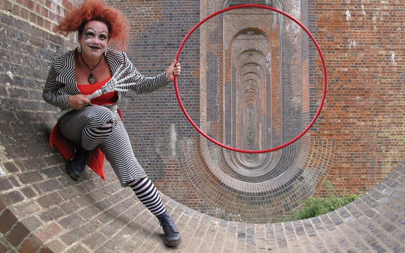 Hulaween - Halloween themed hula hoop show