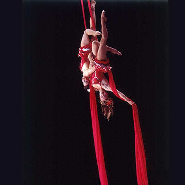 Plunge - Aerial silks