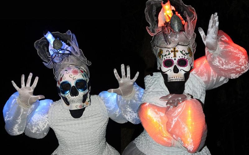 Las Muertas - Day of the Dead stilt walkers