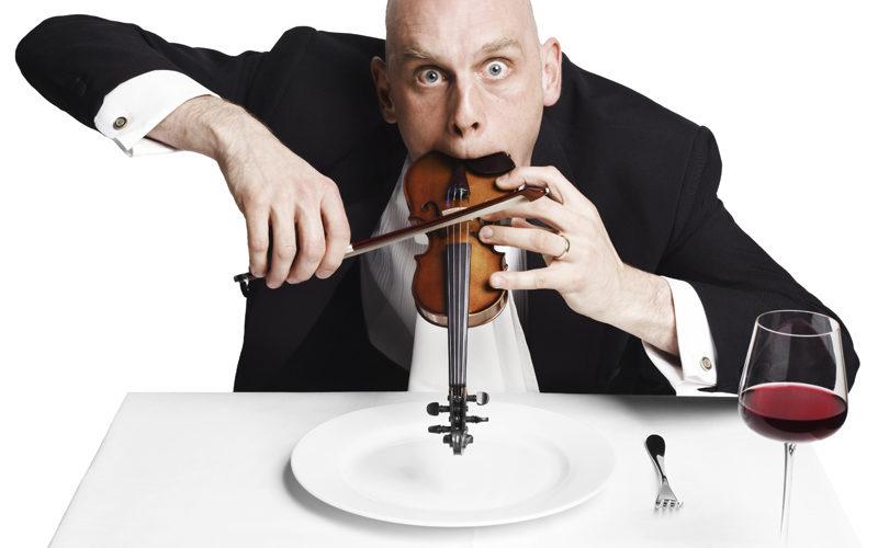 Sid Bowfin Show - Manic idiot violinist
