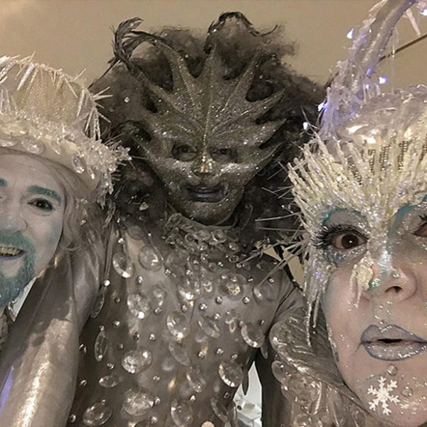 Thawed - Ice themed walkabout characters