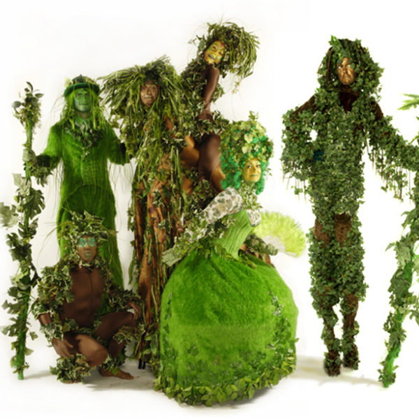 Treeo - Arboreal themed walkabout characters