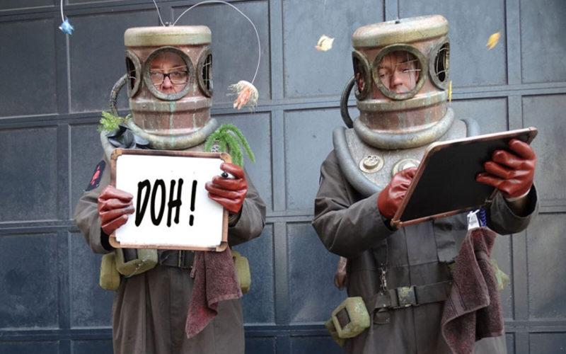 Deep Sea Divers - Comedy stilt walking characters