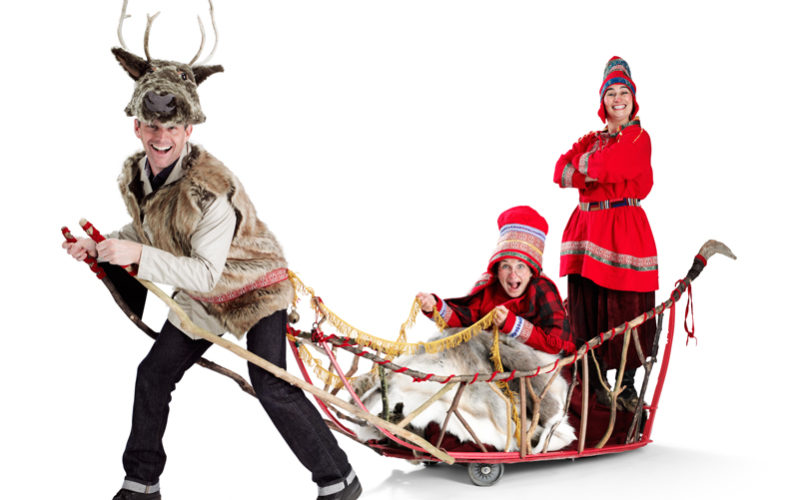 Mother Christmas' Sleigh - looking for the perfect reindeer