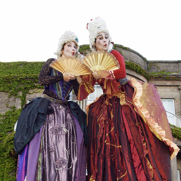 Restoration Ladies - Comedy stilt walking characters