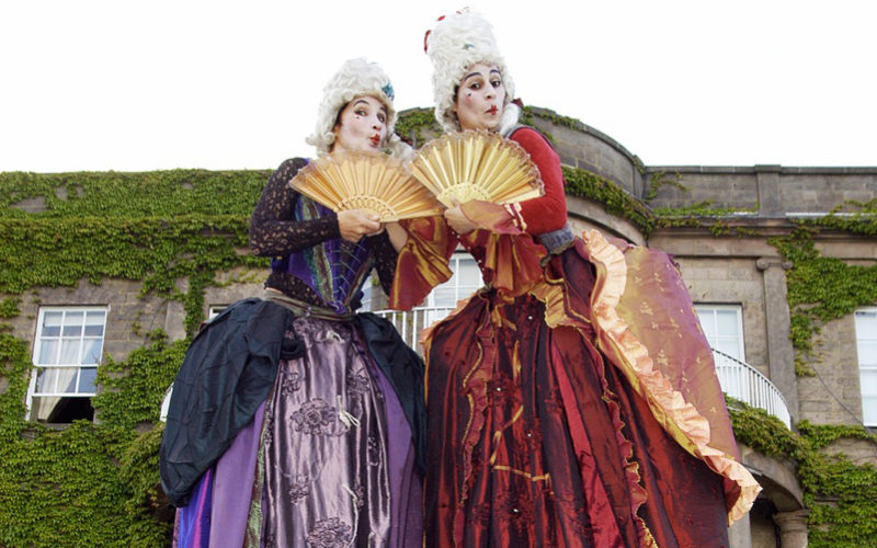Restoration Ladies - Comedy stilt walking characters