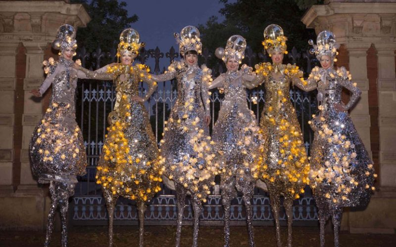 Glitter Belles - Disco and Festive themed walkabout