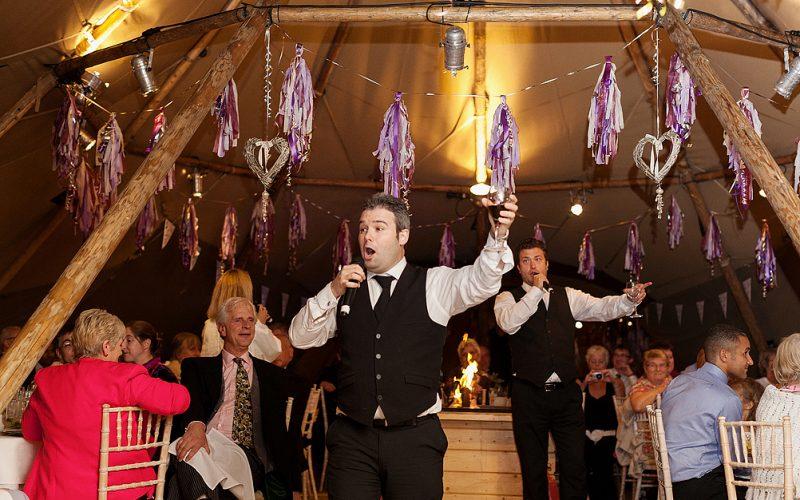 Singing Waiters - Duos, trios and quartets