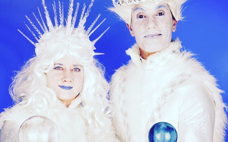 Ice People - Ice themed juggling walkabout