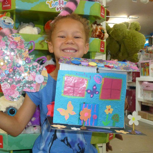 Toy Making Workshop - Creative make and take workshops for children.