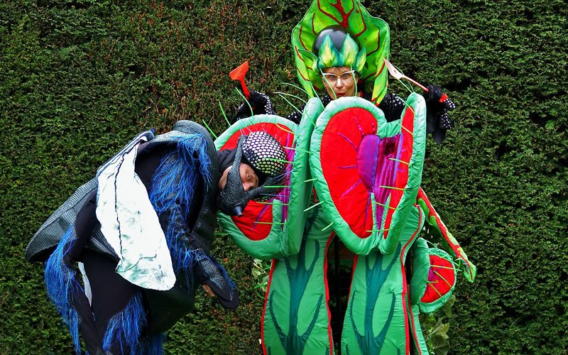 Belladonna and her Venus Flytraps - Comedy gardening glide-about act