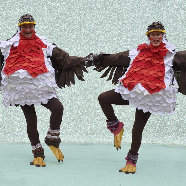 Rockin' Robins - Musical comedy Christmas walkabout